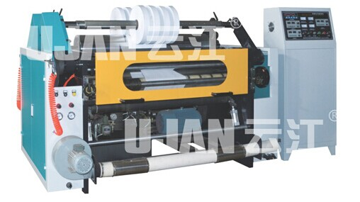 slitting and rewinding machine for surface rolling